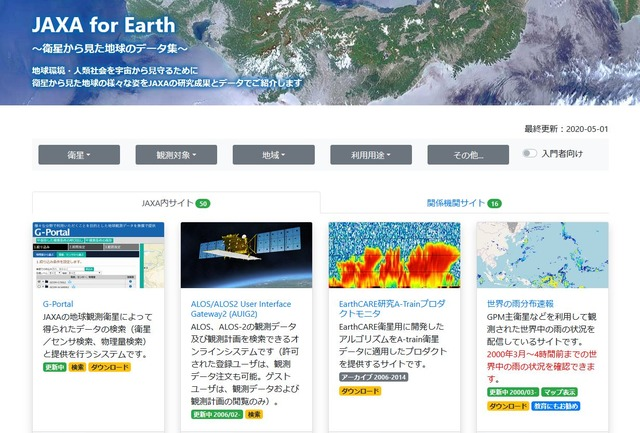 JAXA for Earth