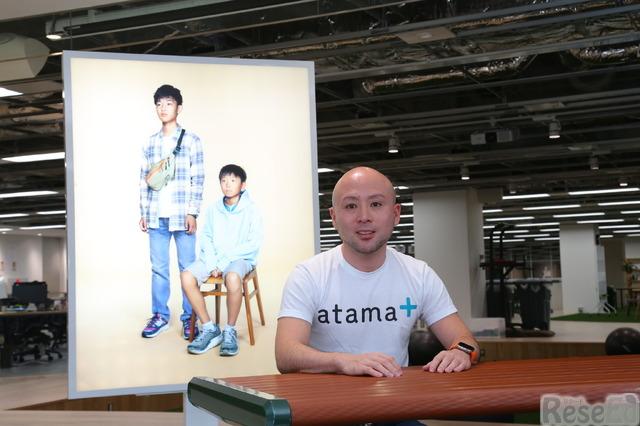 「atama+」のペルソナである藤井兄弟と稲田社長