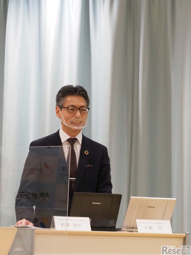 ポプラ社代表取締役社長 千葉均氏