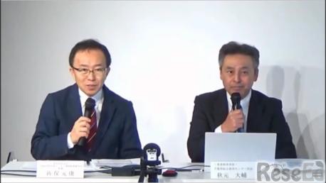 コーディネーターの新保先生(左)、秋元先生(右)