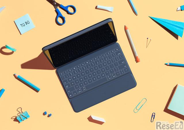 iPad用キーボード「Rugged Combo 3」とデジタルペンシル「Crayon」
