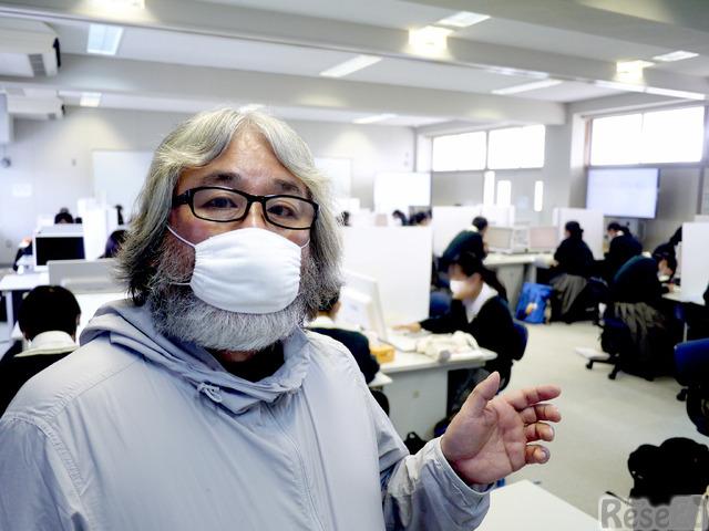 神戸甲北高校での授業の様子